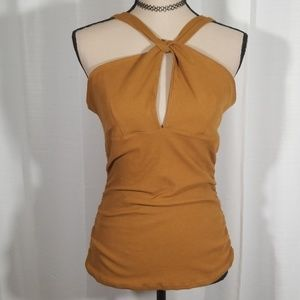 Free People movement crossed straps top. Size L